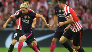Jornada 10 Temporada 17/18 Liga Santander: Athletic de Bilbao vs FC Barcelona