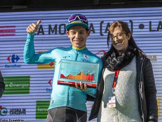 Miguel Ángel López se viste de líder ganando la cuarta etapa
