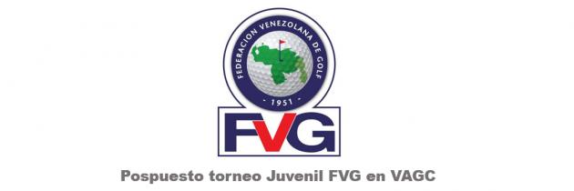Pospuesto Torneo Juvenil | Federación Venezolana de Golf