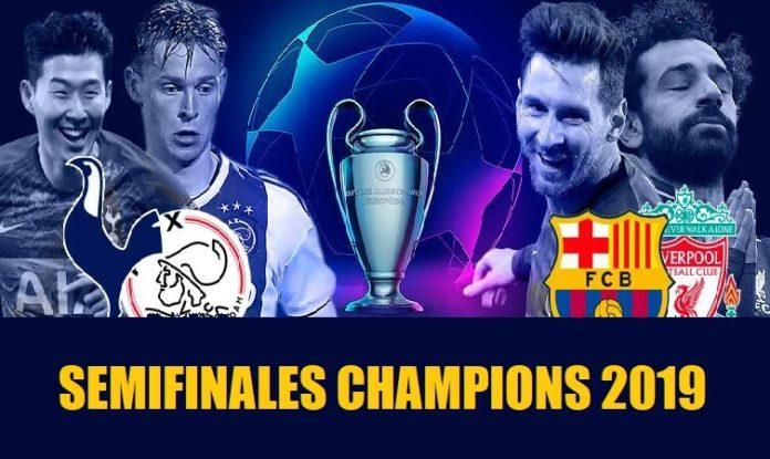 Semifinales Champions 2019 | Partidos, horarios y dónde ver por TV