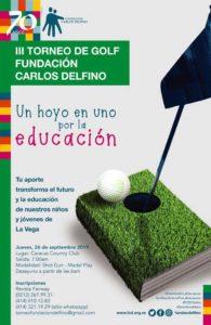 Torneo de Golf a beneficio Fundación Carlos Delfino