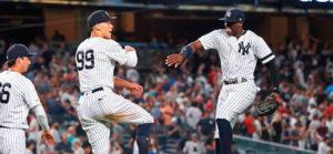 Yankees barrió la serie frente a los Medias Rojas en Nueva York