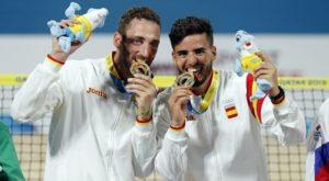 Antomi Ramos y Gerard Rodríguez, oro en los Juegos Mundiales de Tenis Playa