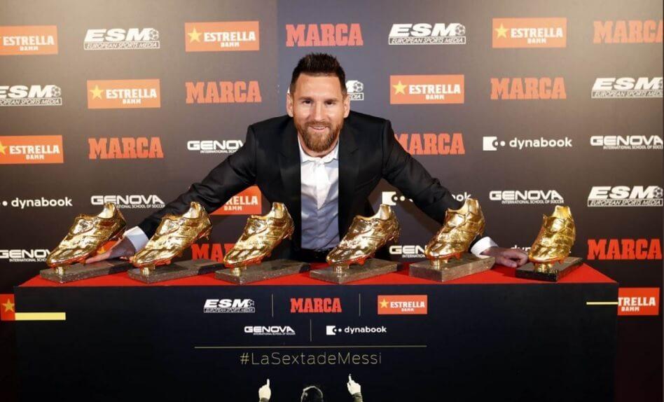 Messi Bota de Oro 2019
