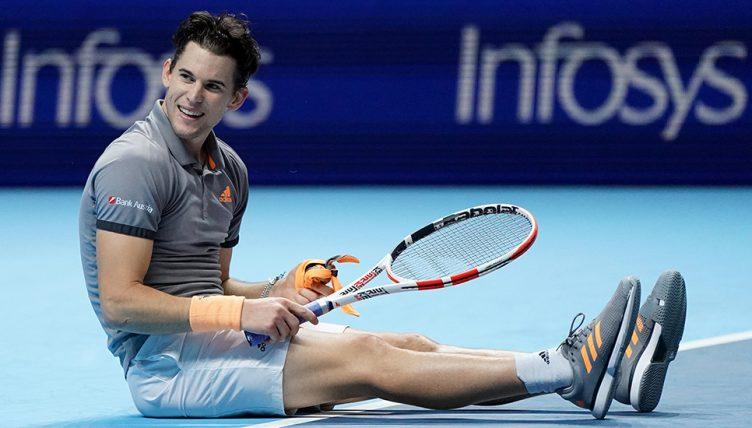 Dominic Thiem derrotó a Novak Djokovic