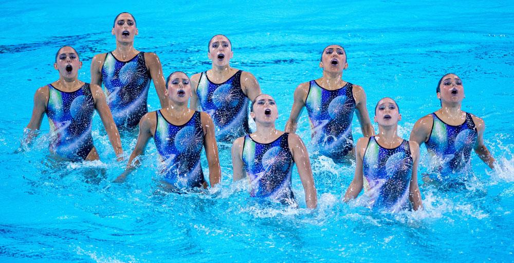 Finaliza Torneo de natación artística en Aguascalientes