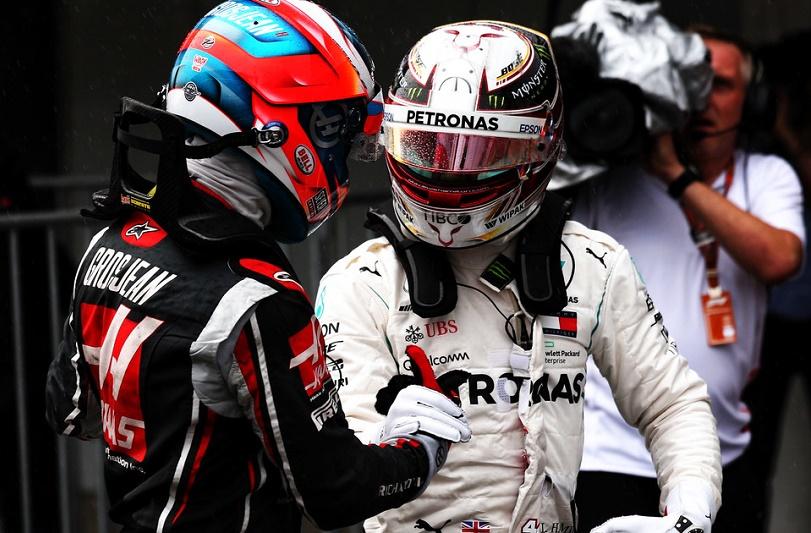 Hamilton, uno de los cinco mejores de la historia según Grosjean