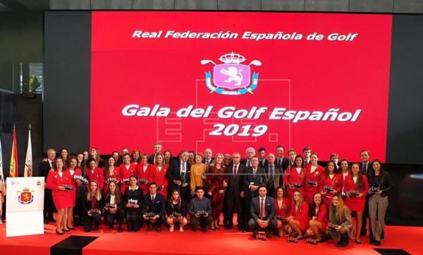 Golf español celebró su gala anual