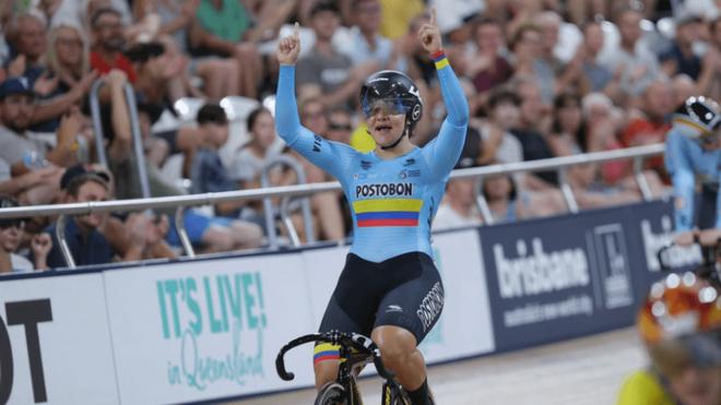 La colombiana Martha Bayona gana oro en la Copa Mundo de Pista