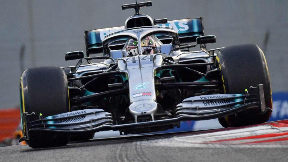 Lewis Hamilton gana el GP de Abu Dabi