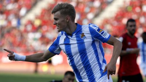 Martin Odegaard podría acompañar a Benzema este 2020