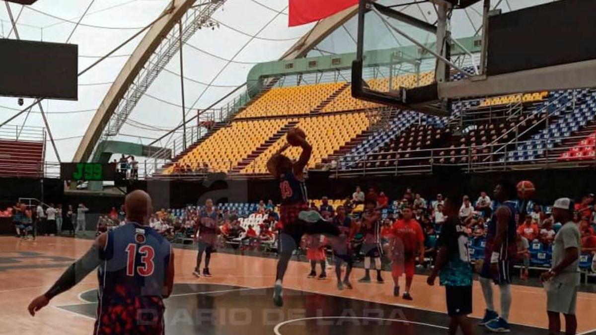 Guaros de Lara jugó una caimanera con escuelas deportivas de béisbol