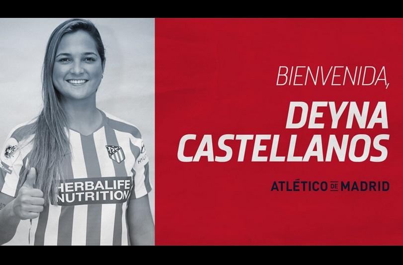 Deyna Castellanos firma con el Atlético de Madrid