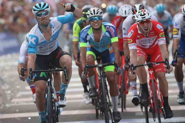 El holandés Barbier sorprende en un tenso final de Vuelta a San Juan