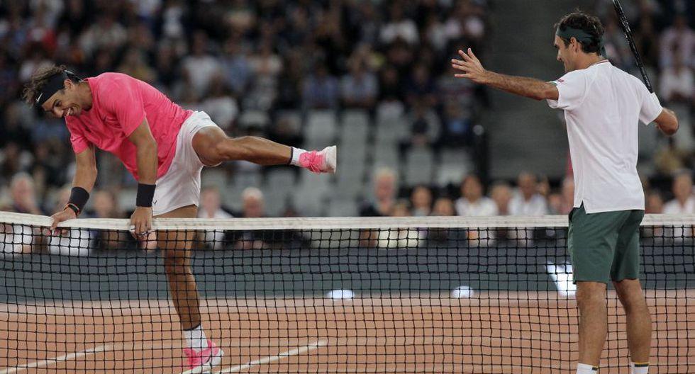 Federer y Nadal ofrecerán partido benéfico este viernes